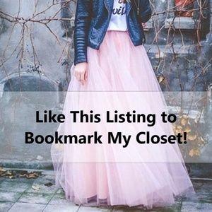 Tops - Bookmark My Closet!